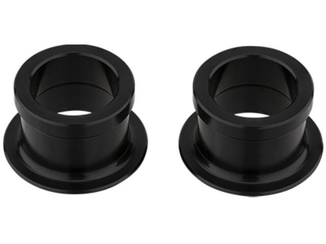 NEWMEN Road Kit d'embouts Ø15 mm/OD 21 mm pour moyeux avant Gen2, black anodized